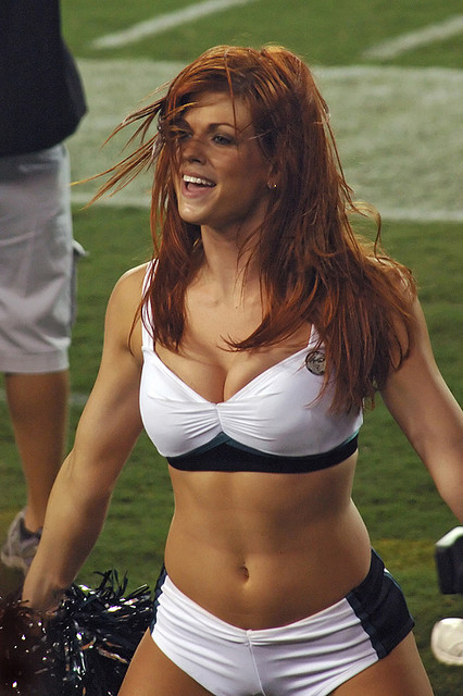 Eagles Cheerleader