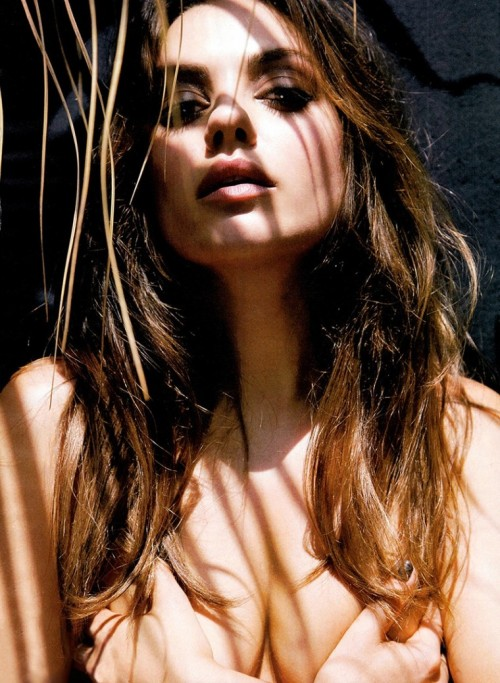 Mila Kunis Grabbing her tits