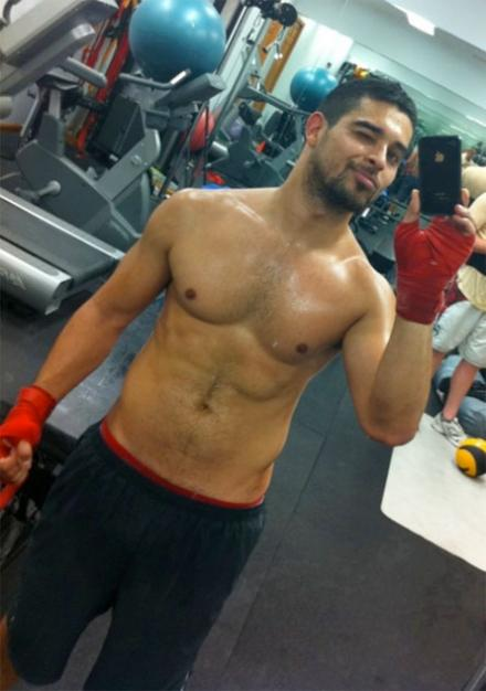 Wilmer Valderrama Shirtless
