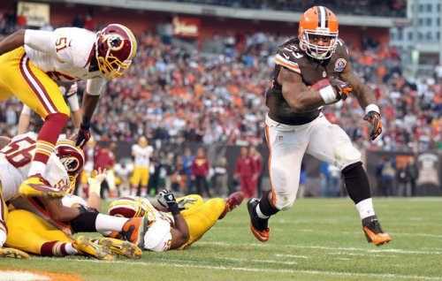 Trent Richardson Redskins TD