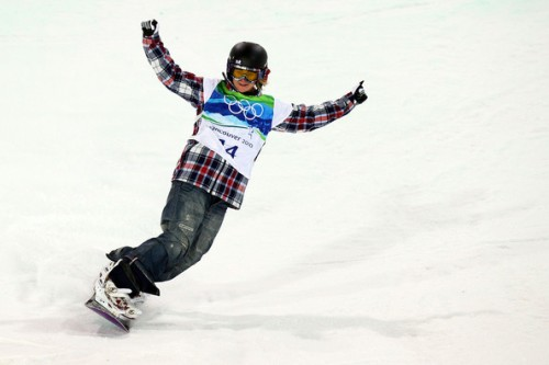 Hannah Teter Snowboarding