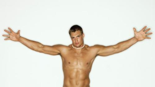 Rob Gronkowski ESPN Body Issue
