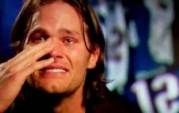 Tom Brady crying
