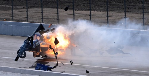 Antron Brown Crash