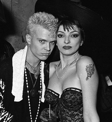 Billy Idol & Perri Lister