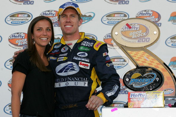 Carl Edwards Kate Downey