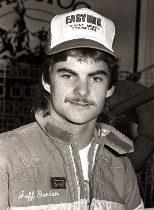 Creepy Jeff Gordon