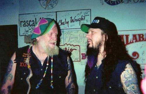 David Allan Coe with Dimebag Darrell