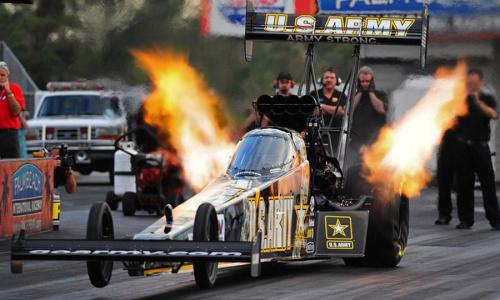 Tony Schumacher Top Fuel Dragster