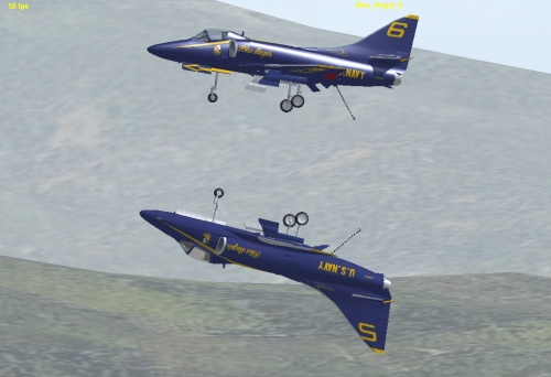 A4 Blue Angels