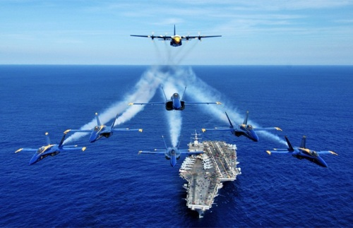 Blue Angels Carrier