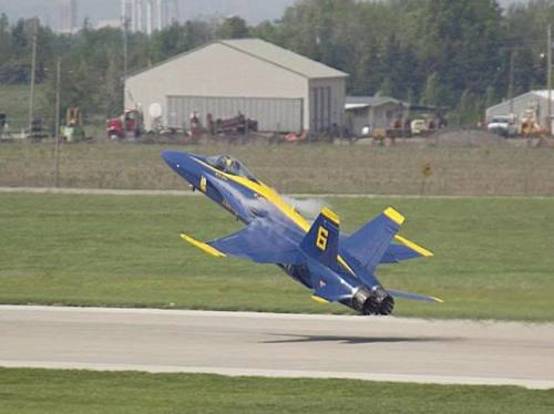 Blue Angels F18 Takeoff
