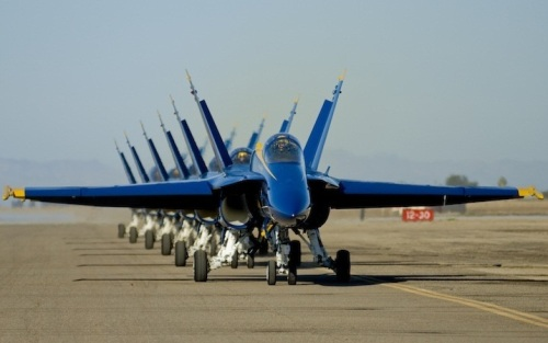 Blue Angels F18