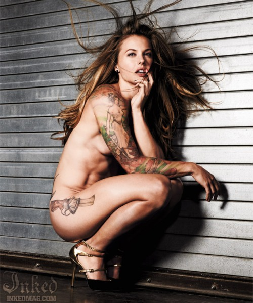 Christmas Abbott Naked