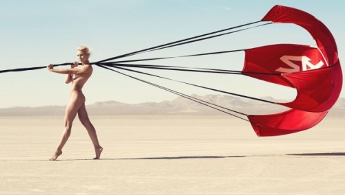 Courtney Force Parachute