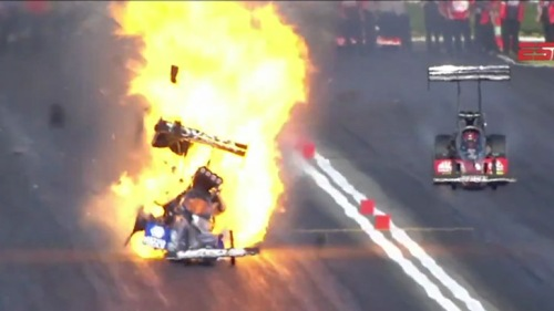 Antron Brown Explosion