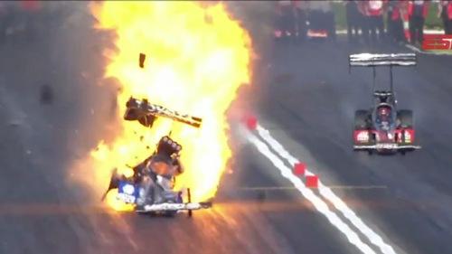 Antron Brown Explosion