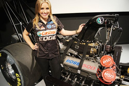 Brittany Force Dragster