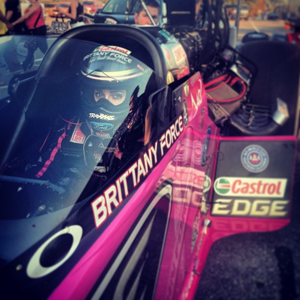 Brittany Force Pink Dragster
