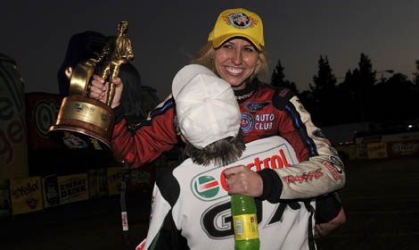 Courtney Force Winternationals Win