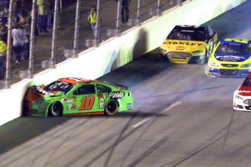 Danica Daytona 500 crash