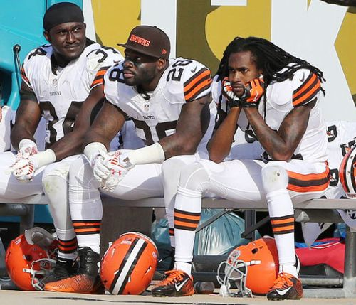 Sad Browns Players