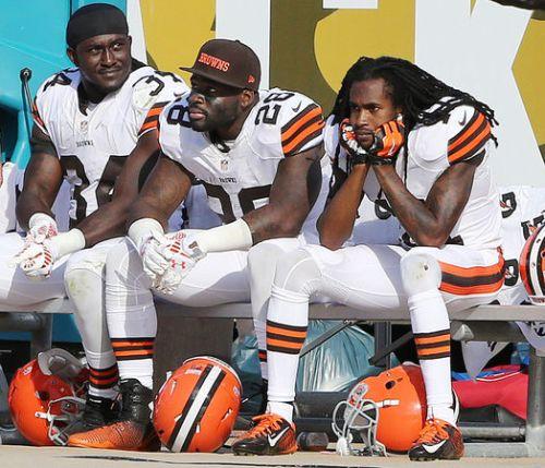Sad Browns Players